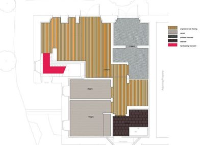 Stewarton Drive, Cambuslang - Proposed Floor Finishes