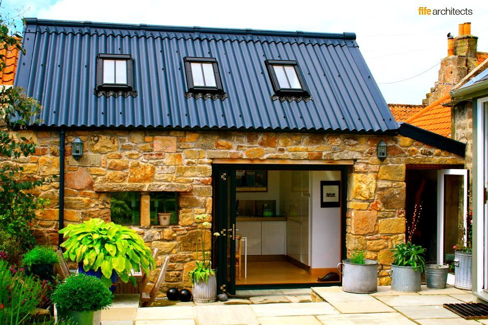 Fife architects the professional studio in the east neuk for Cottage kitchen extensions