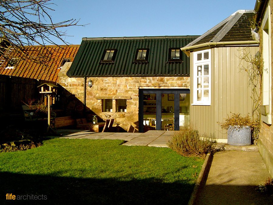 Project westbourne cottage kilrenny fife fife architects for Cottage kitchen extensions