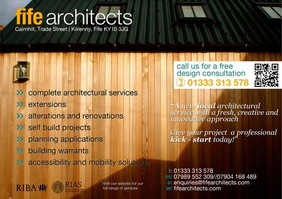 Local Architectural service with a fresh creative approach.