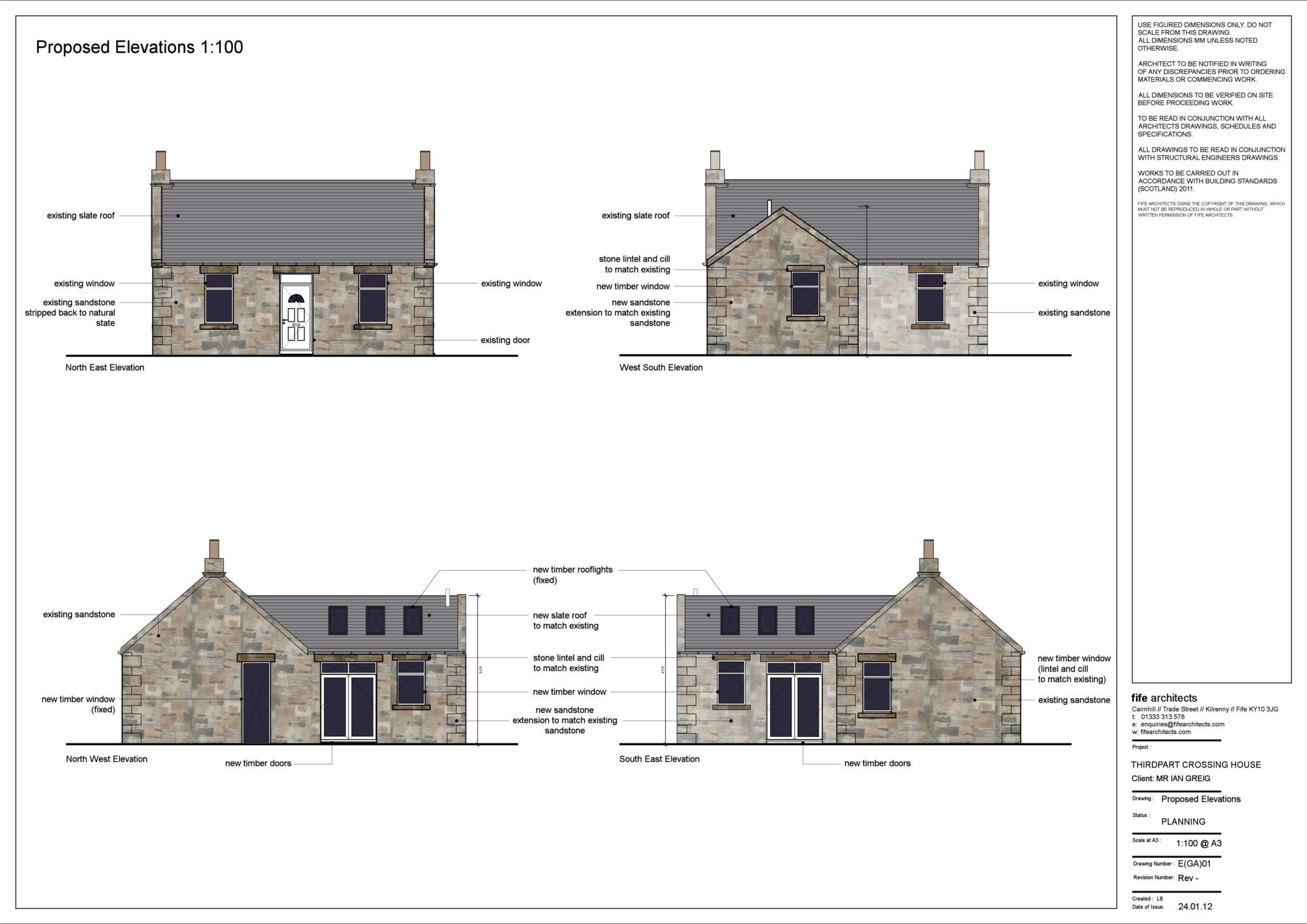 Stone Extension, Crail