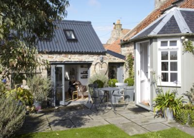 Porch extension and wash house conversion