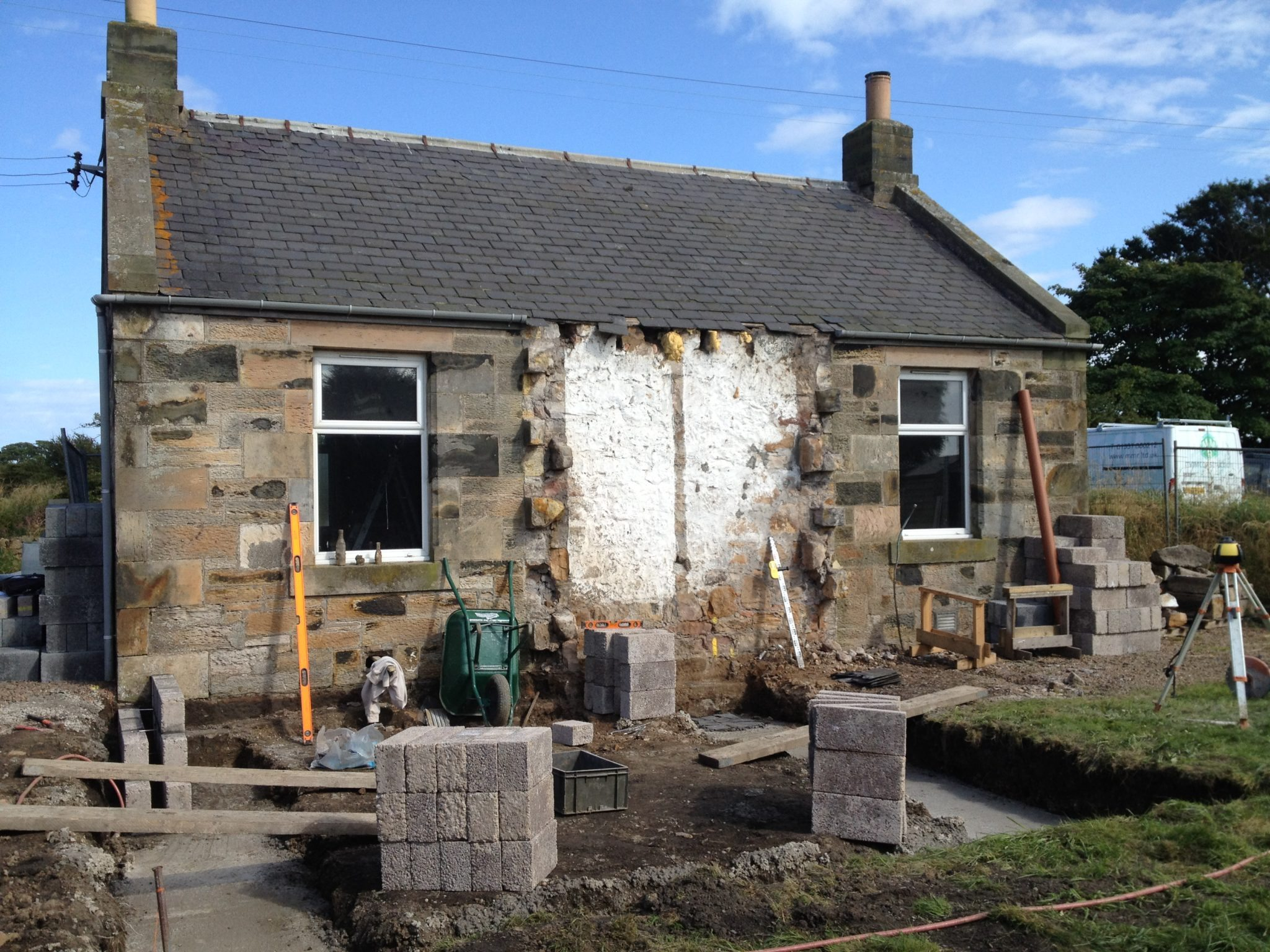 Stone Kitchen Extension, near Crail