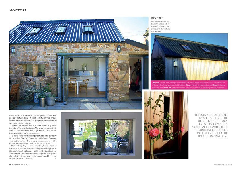 Homes And Interiors Scotland Article