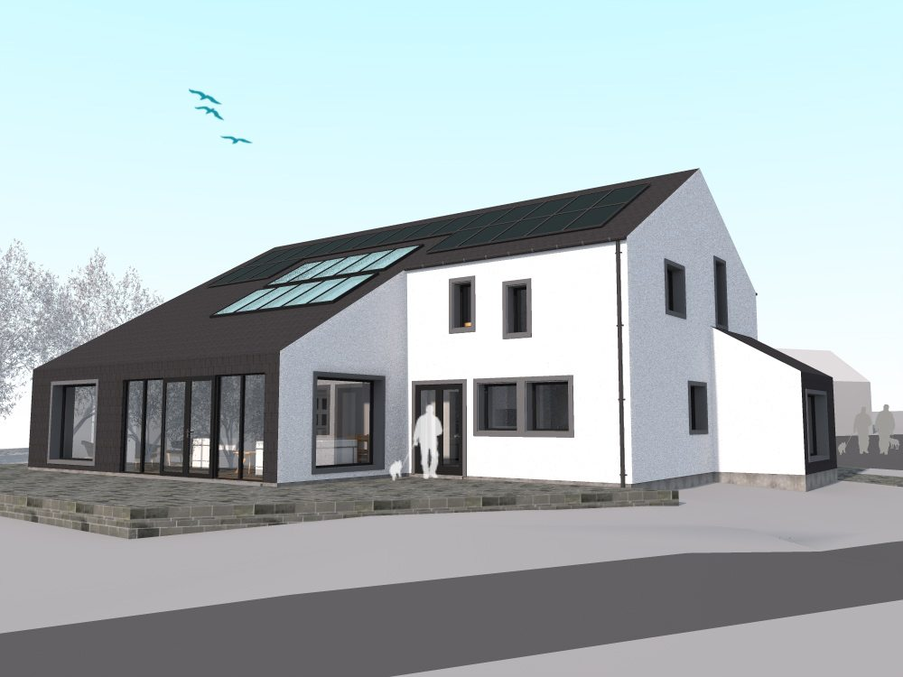 New Build Passive House, Auchtermuchty