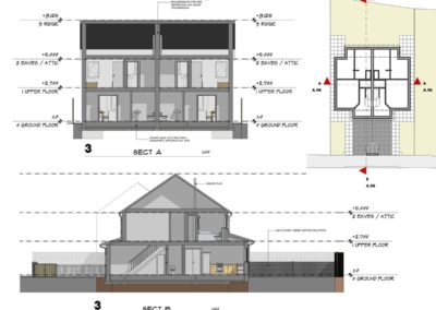 Affordable housing section design