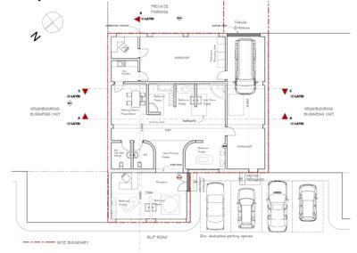 Proposed Plans Showroom