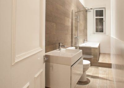 Bathroom design Fife Architects
