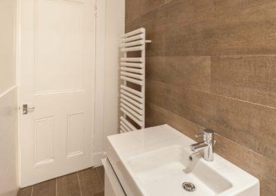 Flat refurb Glasgow - towel radiator