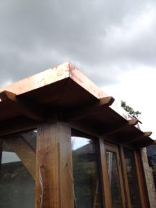 Copper fascias