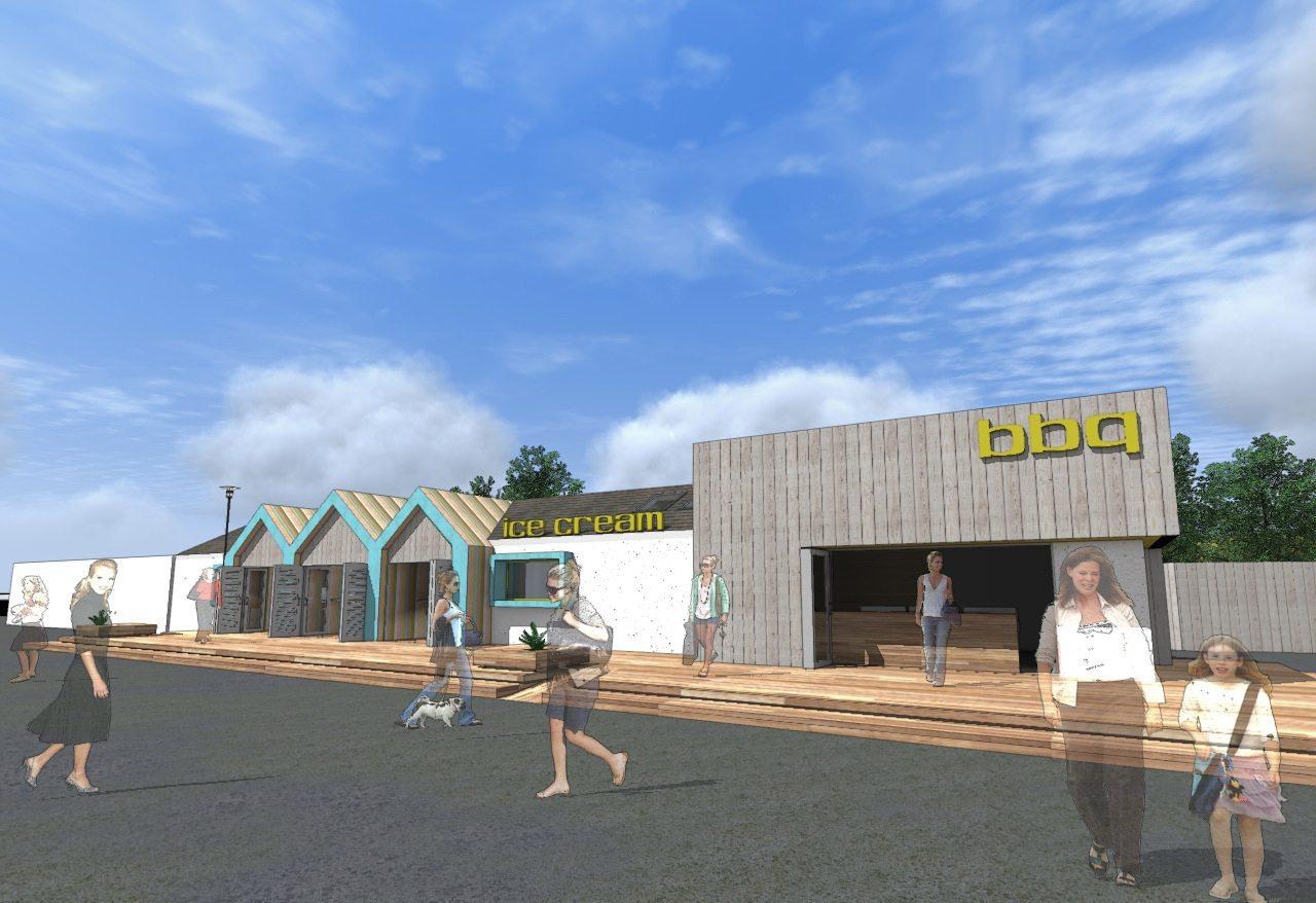 Masterplan for Leisure Park, East Coast Scotland