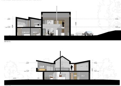 Interior Section Plans for New Build House