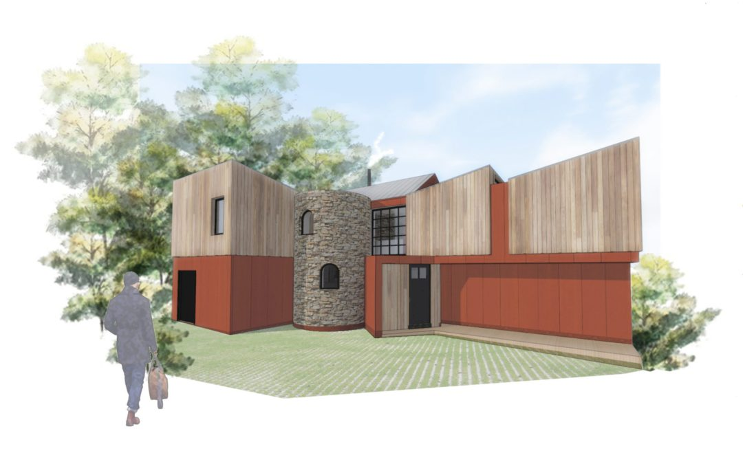 Our industrial house design gets planning approval