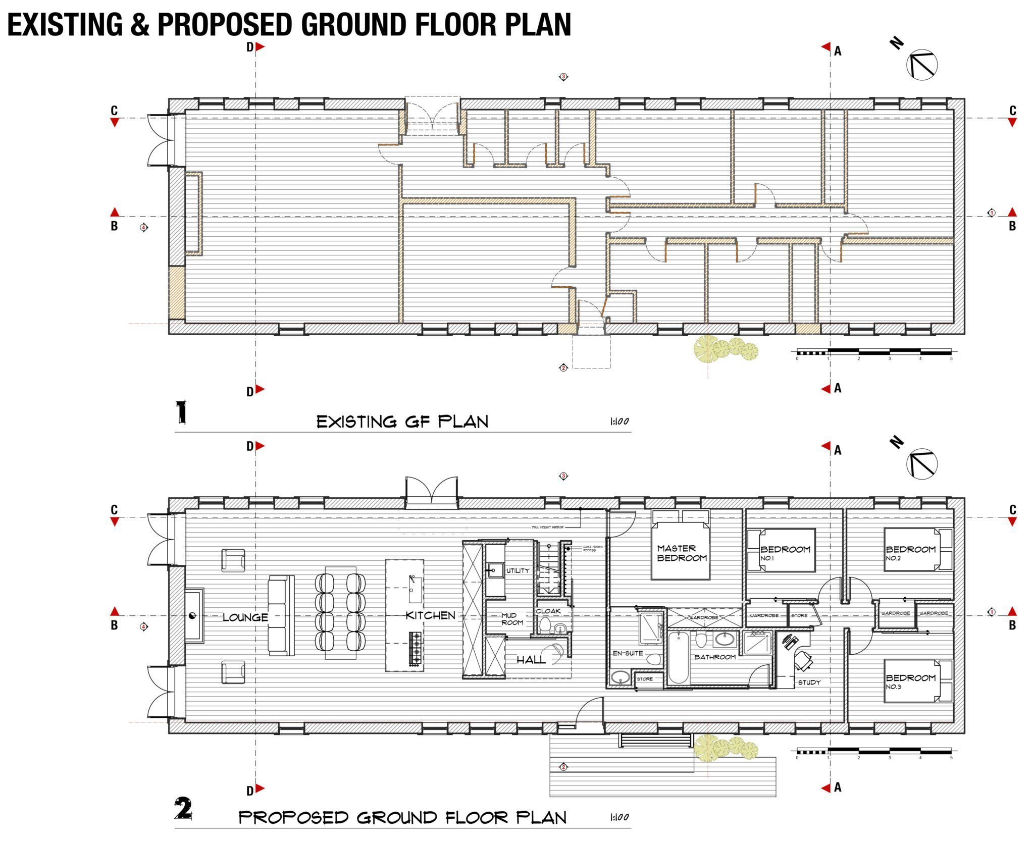 Fife architects the professional studio in the east neuk for Existing house plans