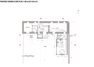 A.05 PROPOSED GROUND FLOOR PLAN