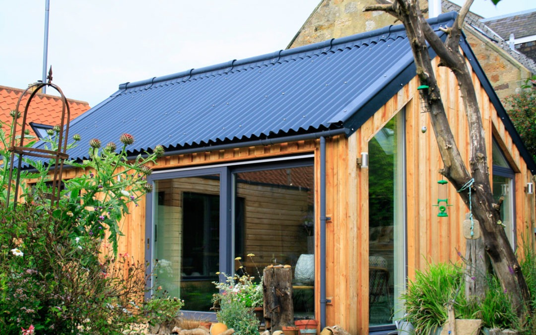 Cottage Timber Clad Extensions, Pittenweem