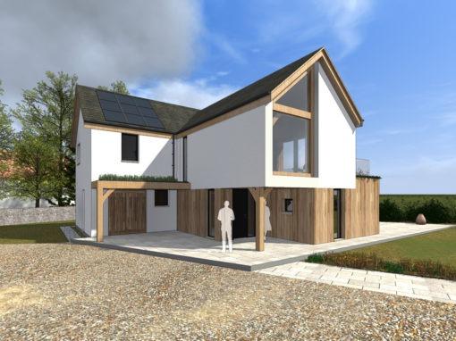 Oak Frame House, Arncroach